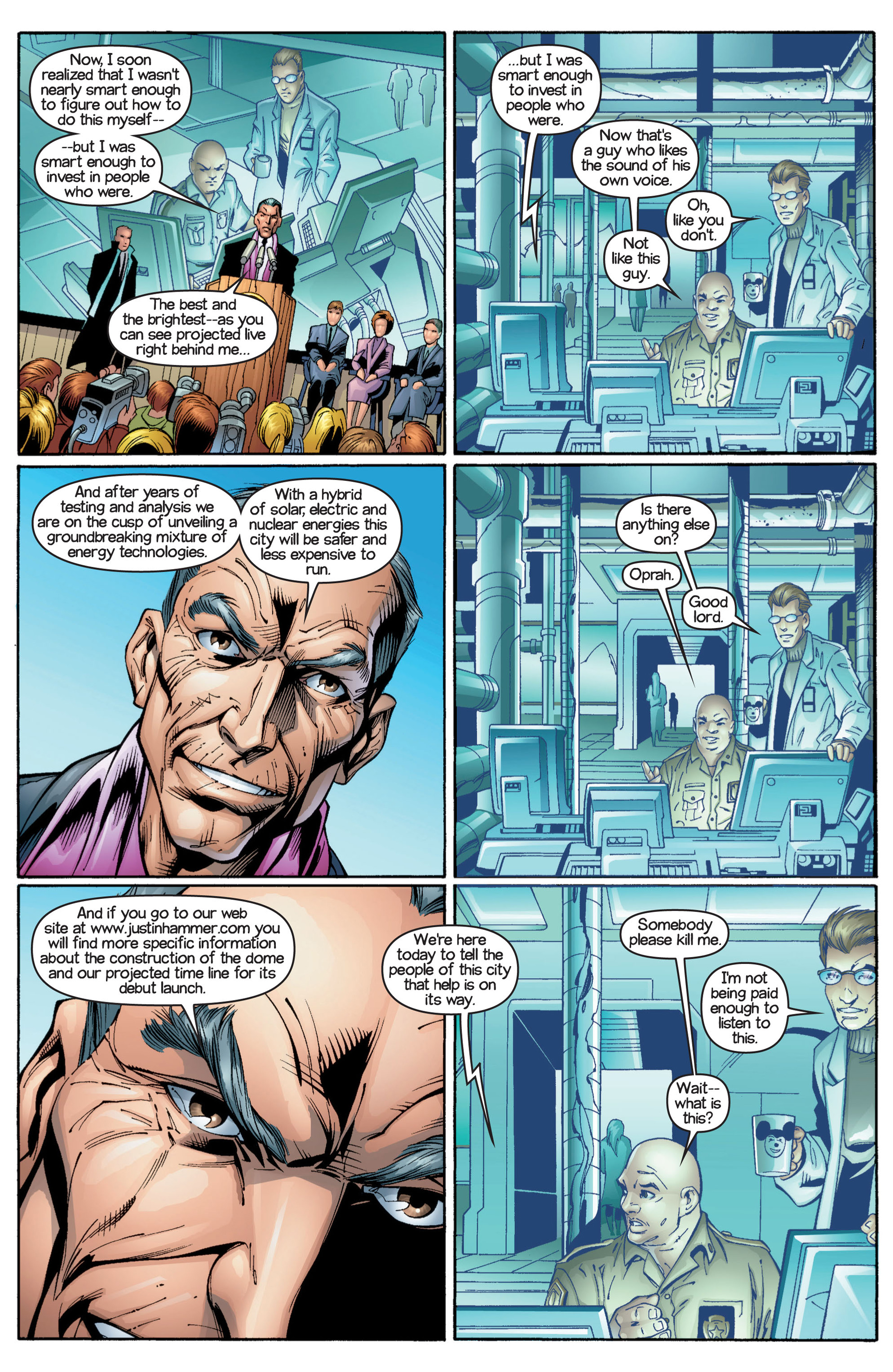 Read online Ultimate Spider-Man (2000) comic -  Issue #17 - 15