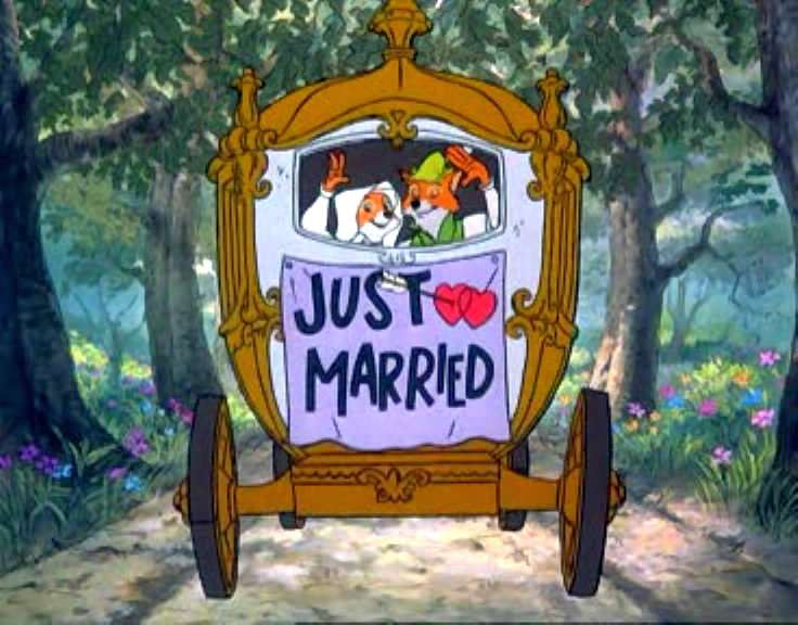 Just Married Robin Hood 1973 animatedfilmreviews.filminspector.com
