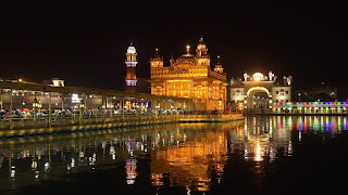 Gold city Golden temple Amritsar top