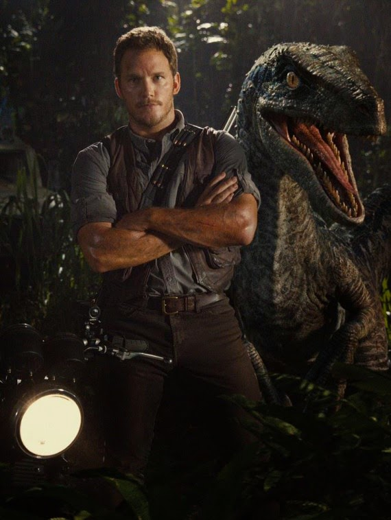 Chris Pratt raptor Jurassic World