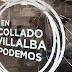 Atacan a pedradas la sede de Podemos en Collado Villalba
