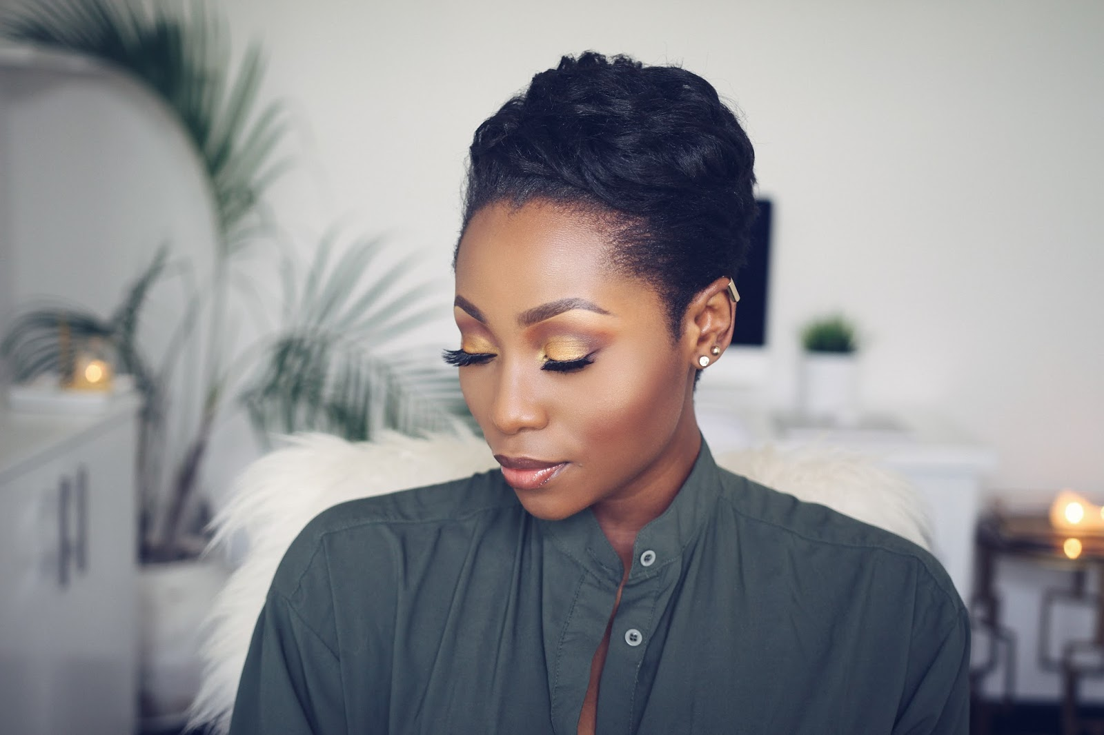 WATCH ME TRANSFORM HOW TO STYLE SHORT RELAXED HAIR FOR BLACK WOMEN ( START  TO FINISH)