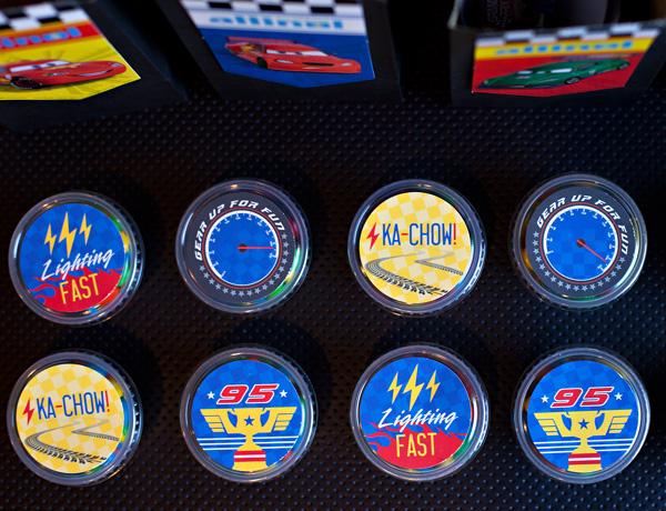 Fiesta de Cars: Kit para Imprimir Gratis.