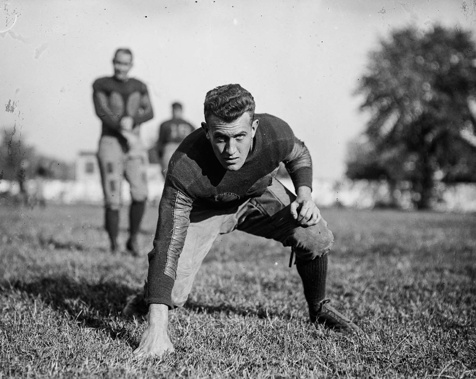 American football resulted from several major divergences from association football and rugby football, most notably the rule changes instituted by Walter Camp, a Yale University and Hopkins School graduate who is considered to be the