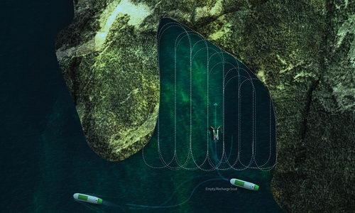 info.tinuku.com Kapal Drone Desain Fredrik Ausinsch Mengkonversi Alga Jadi Biofuel 3