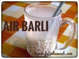 Air-barli-rawat-kencing-kotor