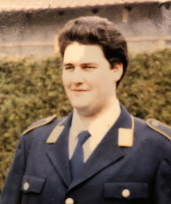 Reinhold Siegel Luftwaffe Bundeswehr Flieger Ausgehuniform