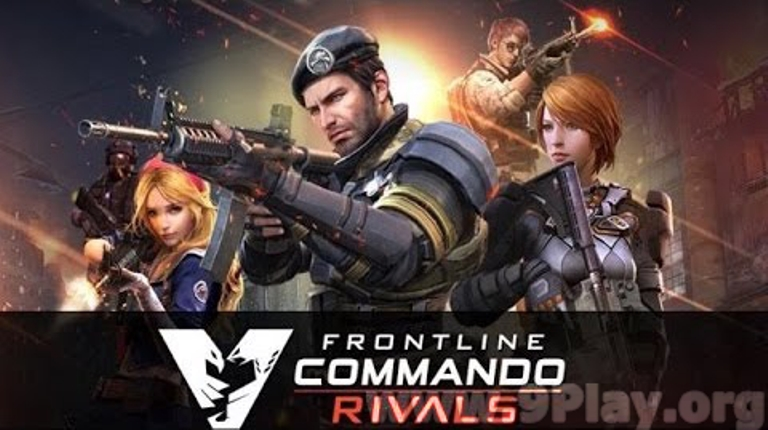 Frontline Commando Rivals APK Mod+Data (Invincible)