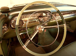 1958 Cadillac Coupe de Ville Steering Wheel