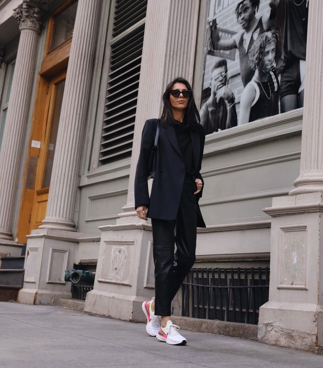 Elevate Your Sneakers With This Chic Outfit