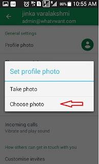 Cara Ganti Foto Profil Gmail di Android