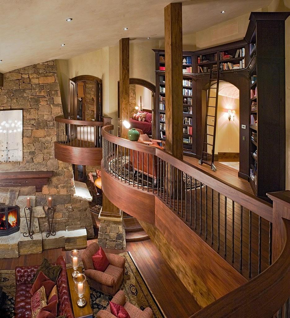 Inside Of Dream Houses: зимний курорт в США: Самые красивые дома