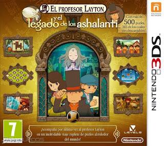El Profesor Layton y el Legado de los Ashalanti, 3ds, español
