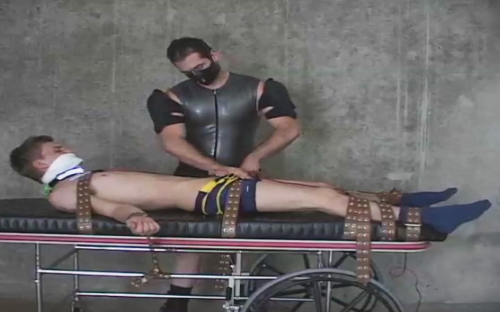 Gay Superhero Bondage 106