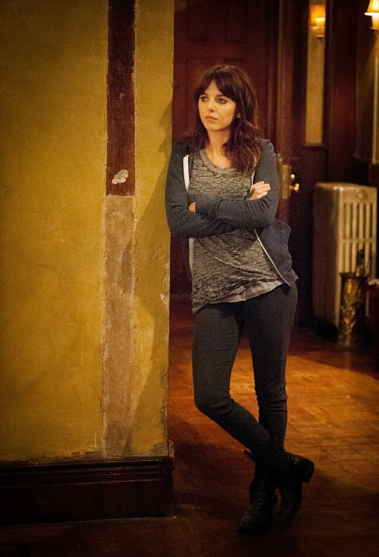 Ophelia Lovibond guest stars as Kitty Winter Sherlock Holmes new apprentice in CBS Elementary Season 3 Episode 1 Enough Nemesis To Go Around