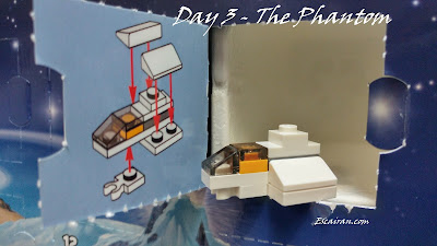Lego Star Wars advent calendar 2017 day 3. The phantom
