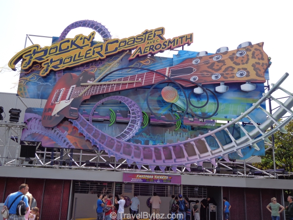Aerosmith Rock n Roll Roller Coaster