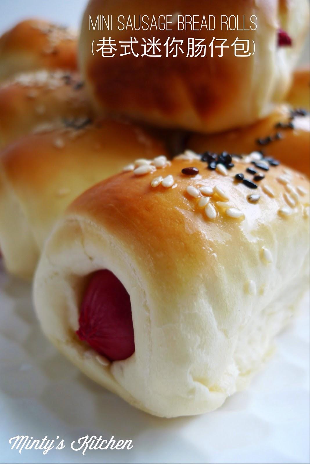 Sausage Rolls / Sausage Bread Rolls