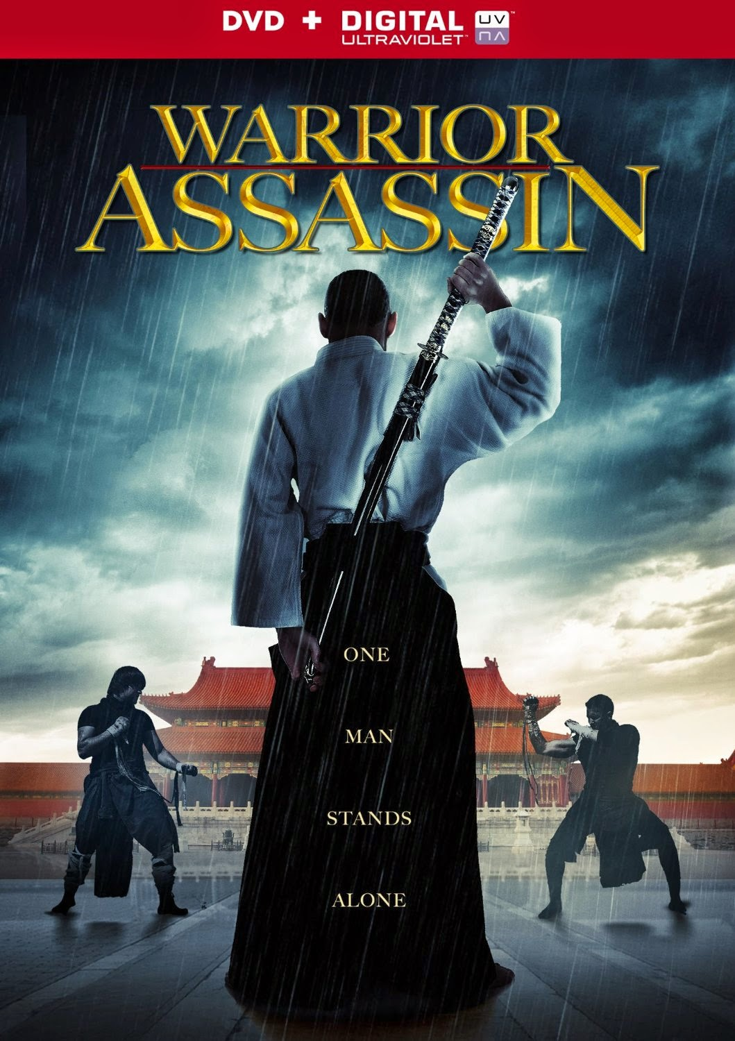 Warrior Assassin (2013) DVD