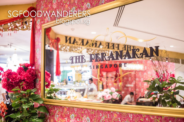 Durian High Tea @ The Peranakan, Orchard