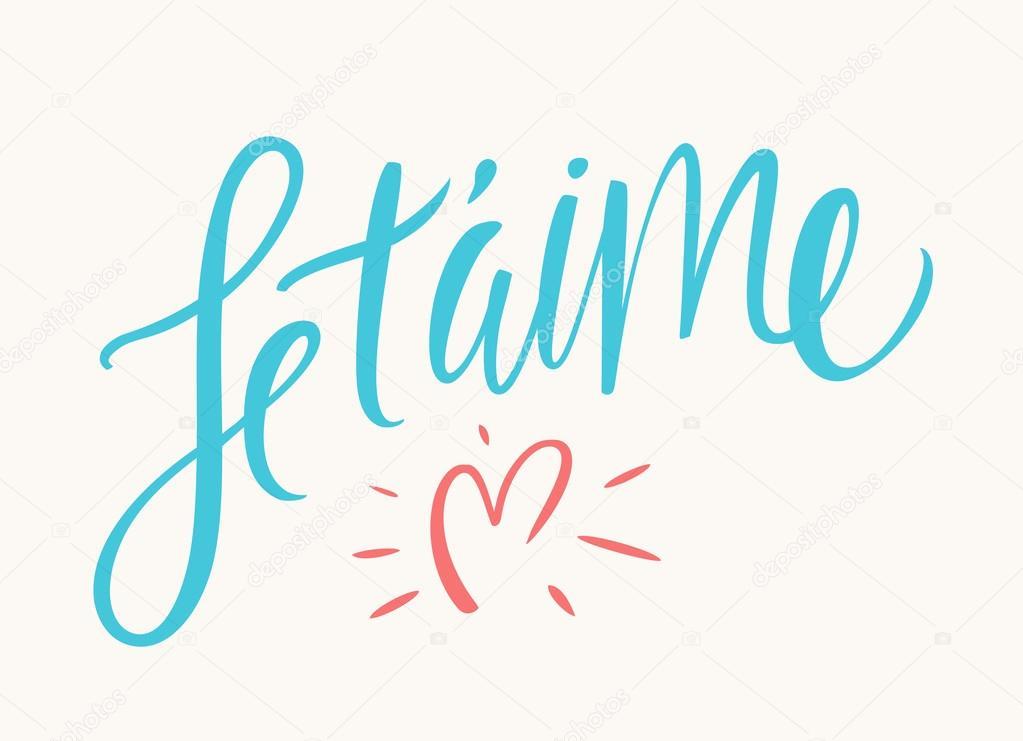 Formas de decir te amo en francés, italiano y alemán poster box code