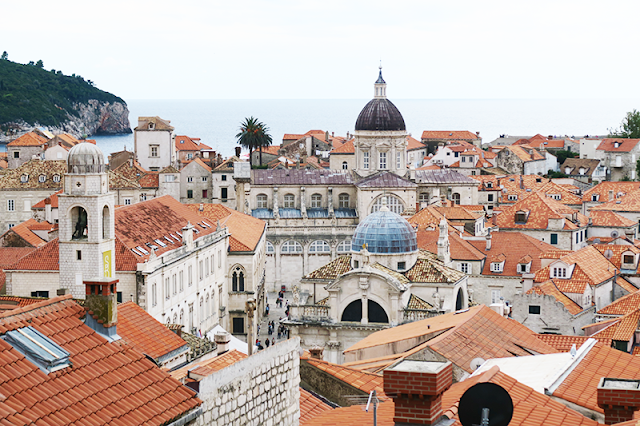 Dubrovnik Architecture Rooftops