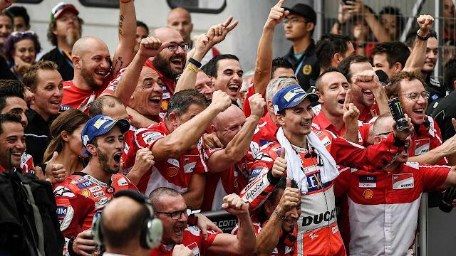 Dovi Bersyukur Terkait Kedatangan Lorenzo di Ducati, Kenapa?