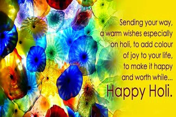Happy Holi 2016 Short SMS in Hindi 120,140,160 Characters
