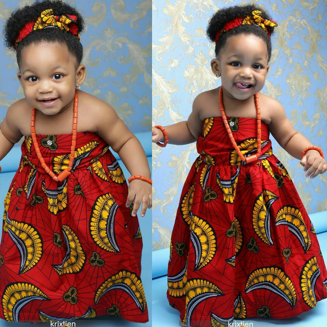 cute ankara styles for baby girl (6)