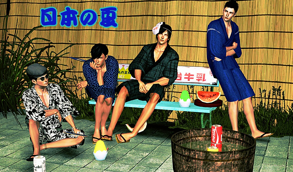 My Sims 3 Blog Traditional Wear For Men In Japan By