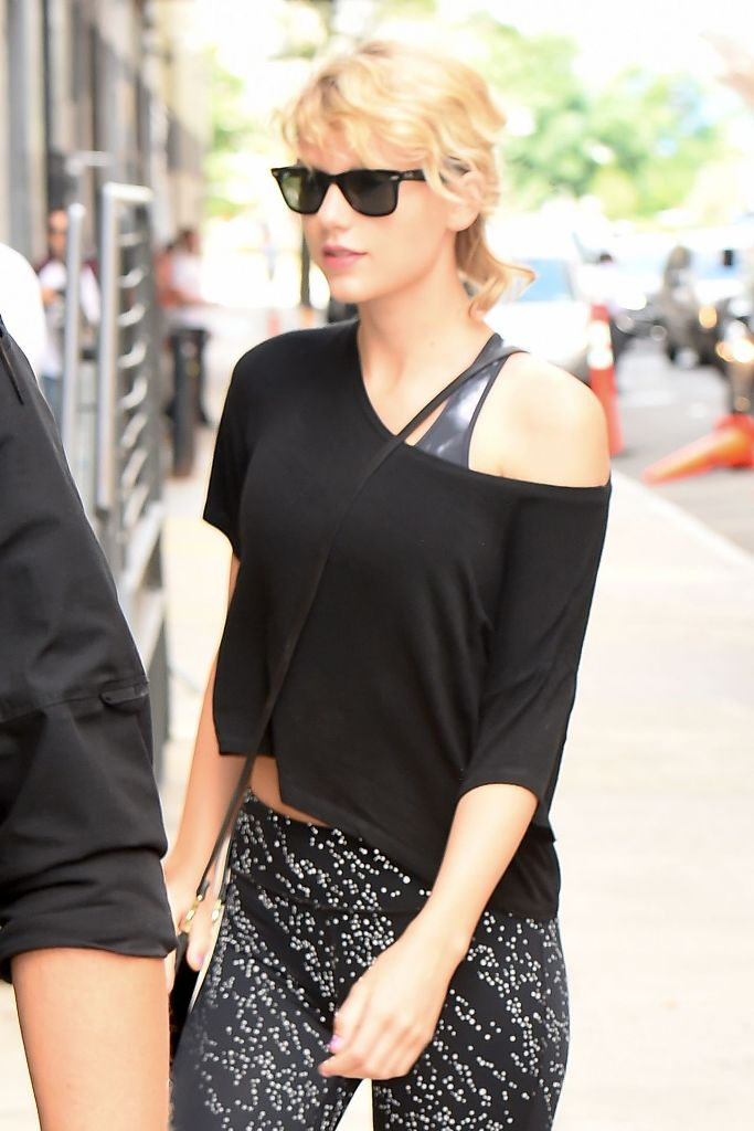 Taylor Swift gym style fashion in New York