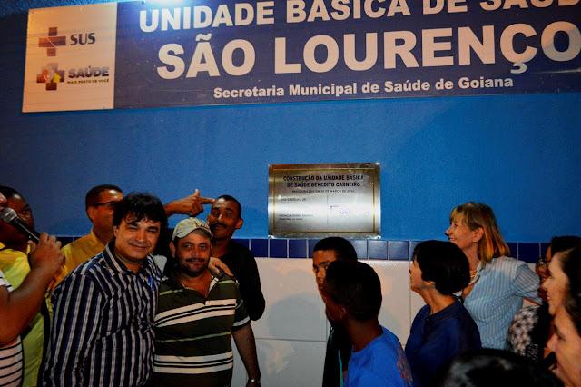 Finalmente: Prefeitura de Goiana inaugura o posto de São Lourenço