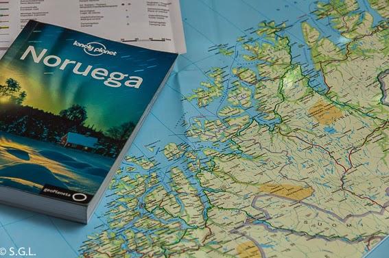 Preparacion del viaje a Noruega