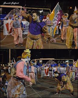 Desfile Inaugural del Carnaval. Uruguay. 2017 Murga La Venganza de los Utileros