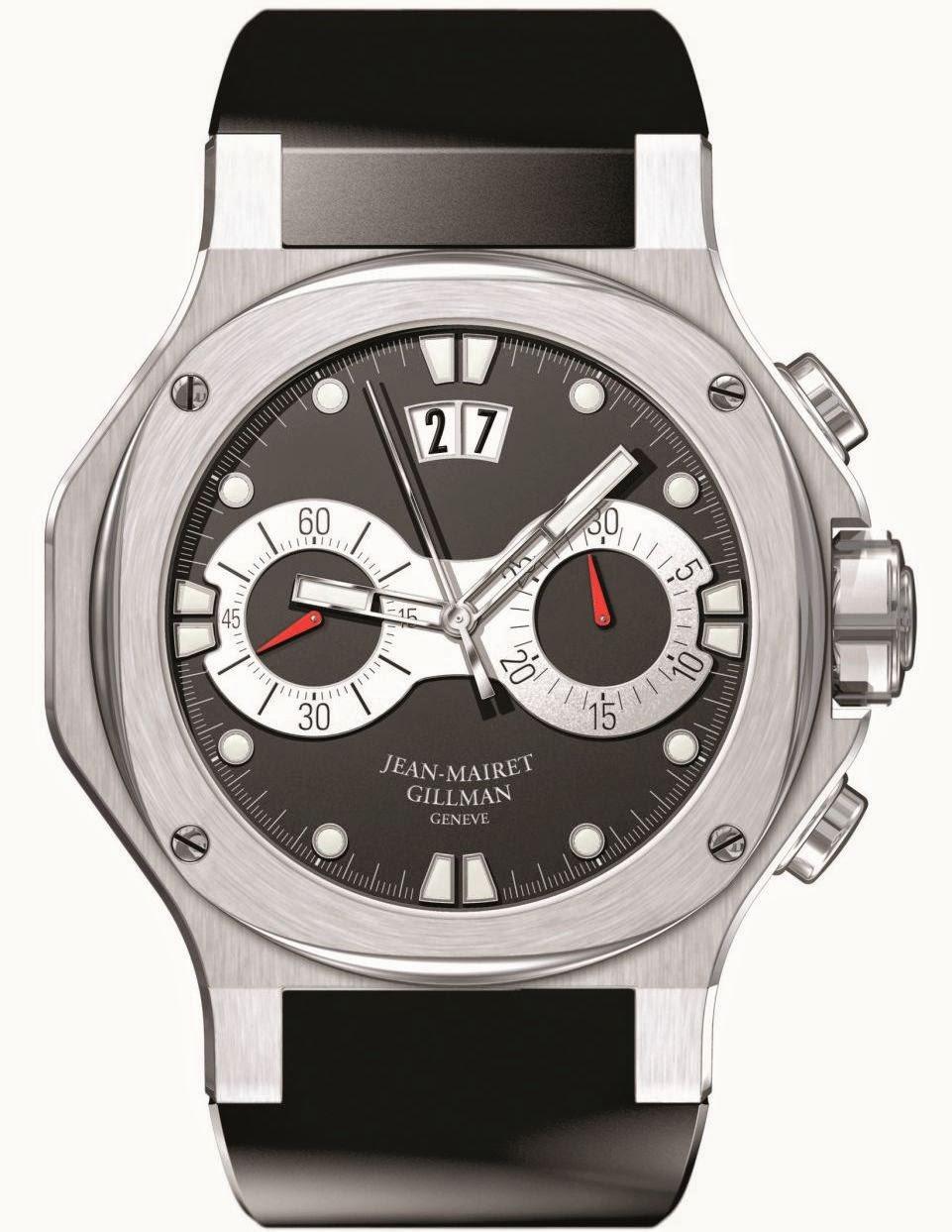 Jean-Mairet & Gillman Chronosport watch