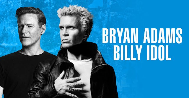 Bryan Adams and Billy Idol join forces for first ever U.S. co-headlining tour