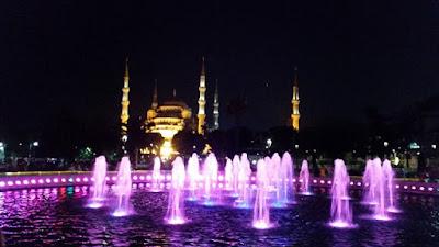 Sultan Ahmet de noche