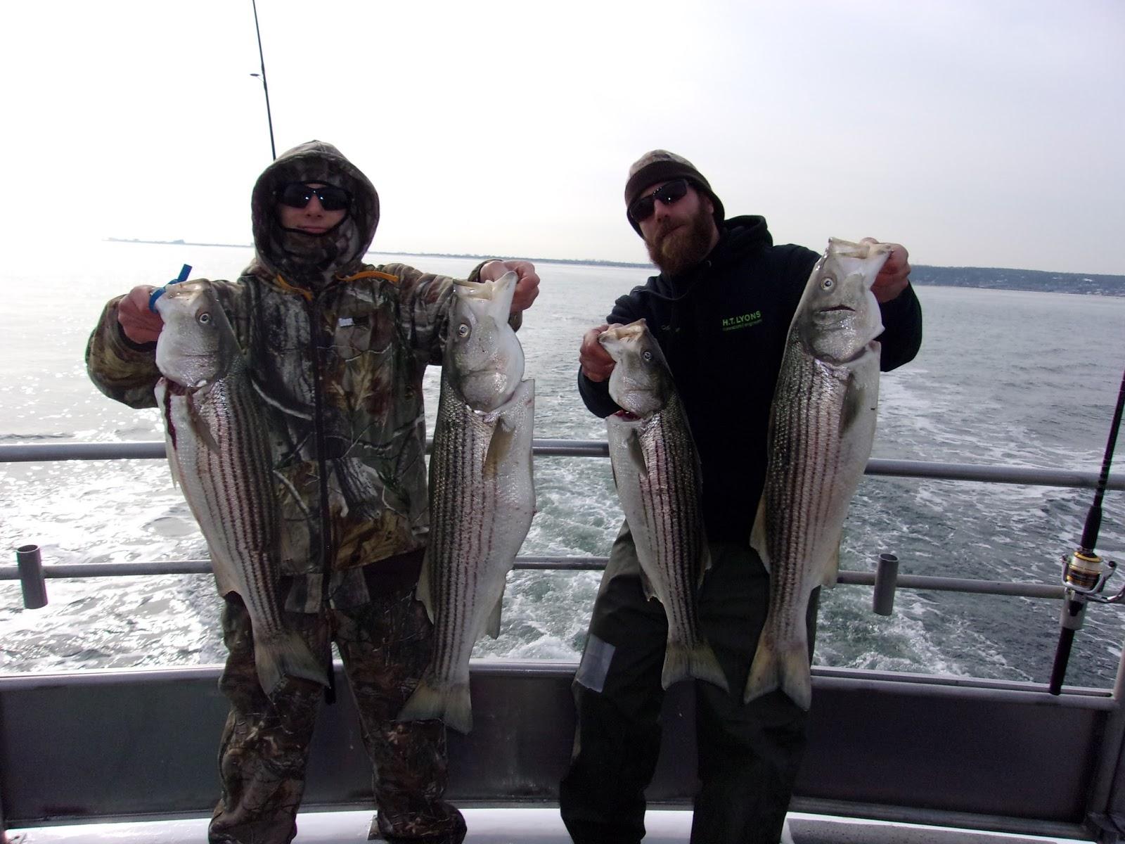 Nj salt fish 2017 12 17 seahunter atlantic highlands for Atlantic highlands fishing report