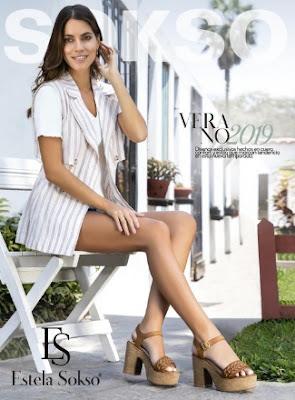 catalogo Sokso calzado verano 2019