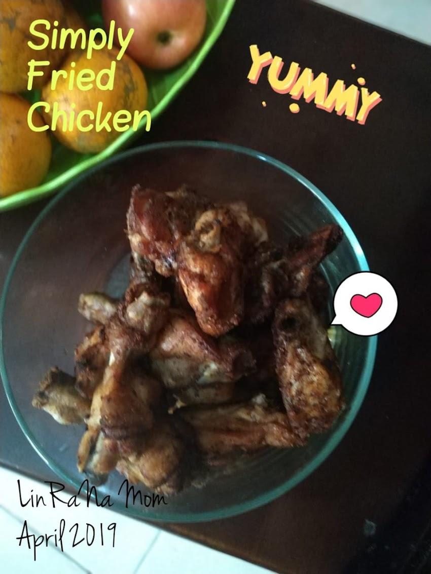 Resep Mudah Ayam Goreng