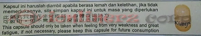 Obat Gemuk Kianpi Pil Ginseng Asli Original