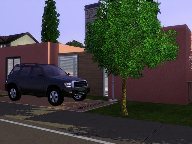 maison gratuite moderne sims 3