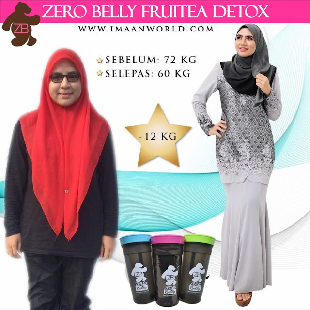 Zero Belly Fruitea Detox Dari Imaan World