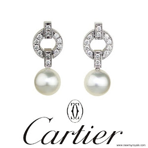 Princess Charlene Style CARTIER Earrings