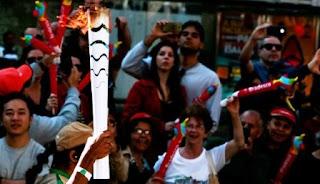 Enfrentamientos violentos entre policías y manifestantes al paso de la antorcha olímpica proyectan una sombra sobre los Juegos de Rio, mientras la amenaza de una huelga de metro despierta temores de caos en el transporte.