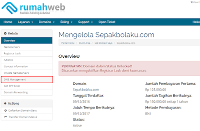 TUTORIAL Mengganti Domain Blog dengan Domain Sendiri 47