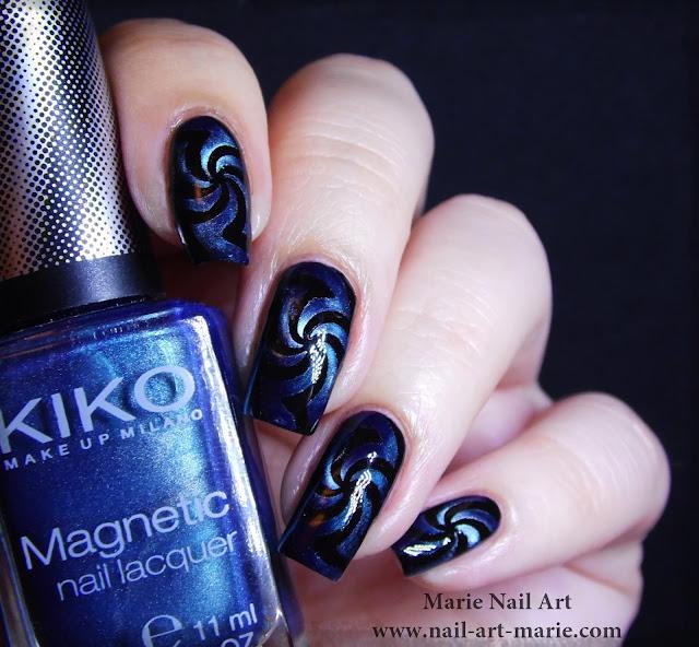 Nail Art Magnétique Hypnotisant1