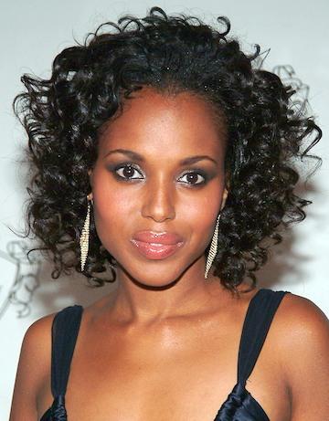 kerry washington l 39 actrice afro americaine afro coiffure coupes pour homme et femme black. Black Bedroom Furniture Sets. Home Design Ideas