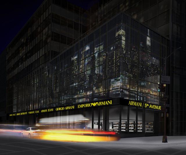 O restaurante estará localizado no piso superior de sua primeira loja  conceito de New York, Armani   5 ª Avenida. Lorenzo Viani, da Ristorante  Lorenzo na ... 5d28abace7