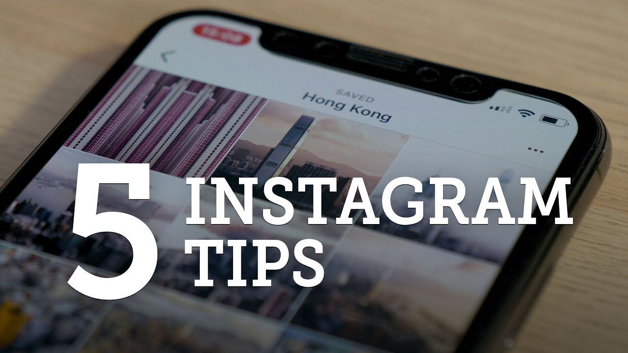5 INSTAGRAM TIPS — Take Advantage & Improve your Photography